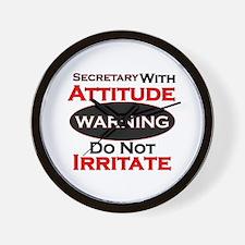 Irritate Wall Clock