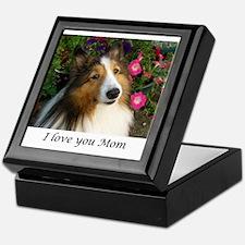 I love you Mom! Keepsake Box