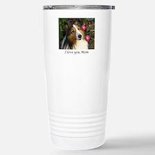 I love you Mom! Stainless Steel Travel Mug