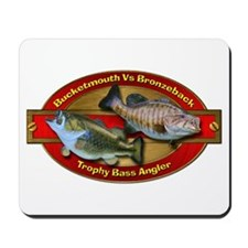 Trophy Bass Angler Mousepad