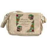 Cicero quote Messenger Bags & Laptop Bags