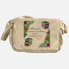 Cicero quote Messenger Bag
