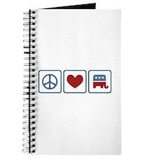 Peace Love Republicans Journal