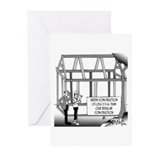 Green Construction Greeting Cards (Pk of 20)