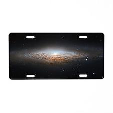 Cute Stargazing Aluminum License Plate