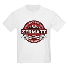 Zermatt Red T-Shirt