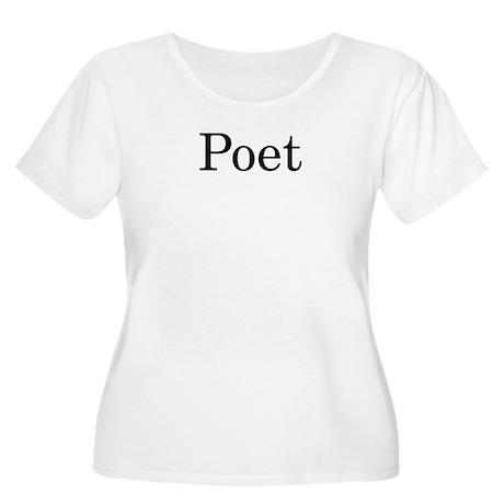 Poet Women's Plus Size Scoop Neck T-Shirt