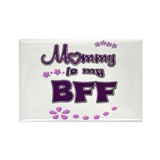 My BFF Rectangle Magnet