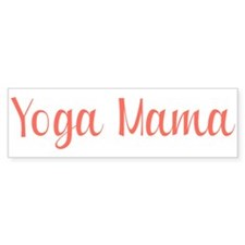 Yoga Mama Bumper Sticker