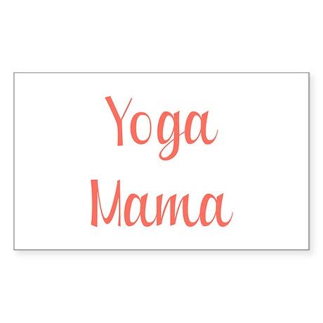 Yoga Mama Sticker (Rectangle)