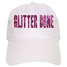 Glitter Done V Baseball Cap