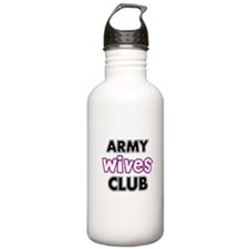 Army Wives Club Water Bottle