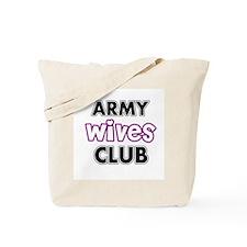Army Wives Club Tote Bag