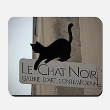 Le Chat Noir Paris Mousepad