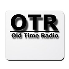 OTR Old Time Radio Mousepad