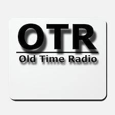 OTR Old Time Radio Mousepad