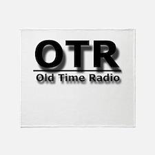 OTR Old Time Radio Throw Blanket