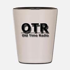 OTR Old Time Radio Shot Glass