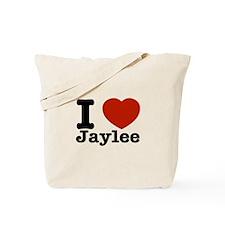 I love Jaylee Tote Bag