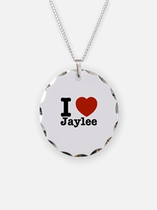 I love Jaylee Necklace