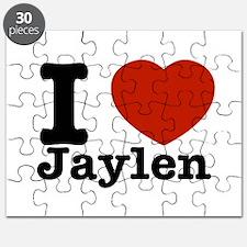 I love Jaylen Puzzle