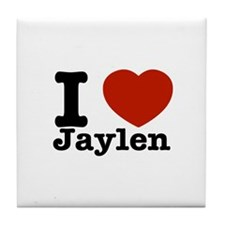 I love Jaylen Tile Coaster