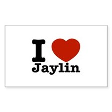 I love Jaylin Decal