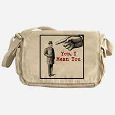 I Mean You Messenger Bag