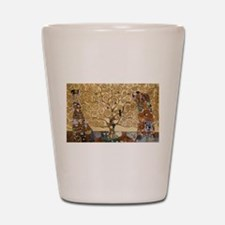 Gustav Klimt Tree Of Life Shot Glass