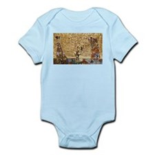 Gustav Klimt Tree Of Life Infant Bodysuit