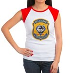 Delaware State Police Women's Cap Sleeve T-Shirt