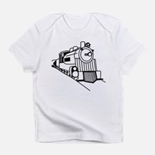 Cute Railroad train Infant T-Shirt