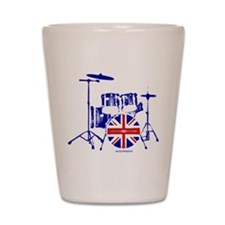 British drum kit... Shot Glass