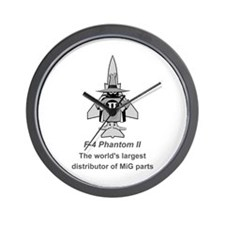F-4 Phantom Wall Clock