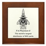F-4 Phantom Framed Tile