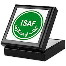 ISAF Keepsake Box