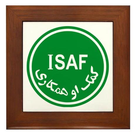 ISAF Framed Tile