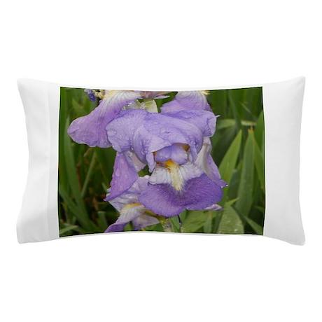 Delicate Purle Iris Pillow Case