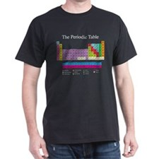 Periodic Table (dark) T-Shirt
