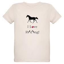 Cute I Love Riding! Horse T-Shirt