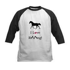 Cute I Love Riding! Horse Tee