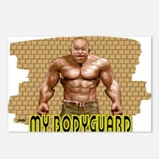 my bodyguard Postcards (Package of 8)