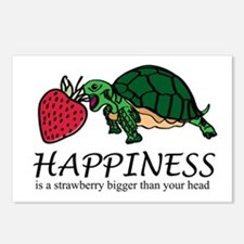 Happiness is (Strawberry) Postcards (Package of 8)