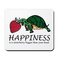 Happiness is (Strawberry) Mousepad
