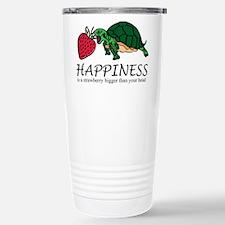 Happiness is (Strawberry) Travel Mug
