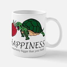 Happiness is (Strawberry) Mug