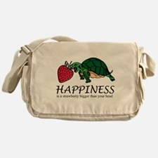 Happiness is (Strawberry) Messenger Bag