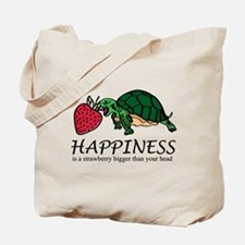 Happiness is (Strawberry) Tote Bag