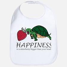 Happiness is (Strawberry) Bib
