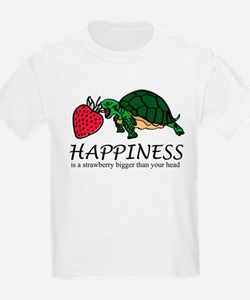 Happiness is (Strawberry) T-Shirt